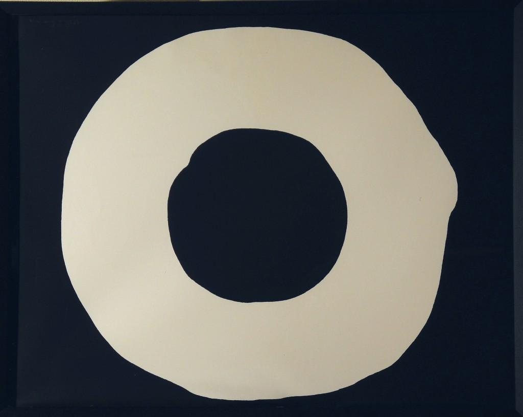 吉原治良 円 リトグラフ44.9×57